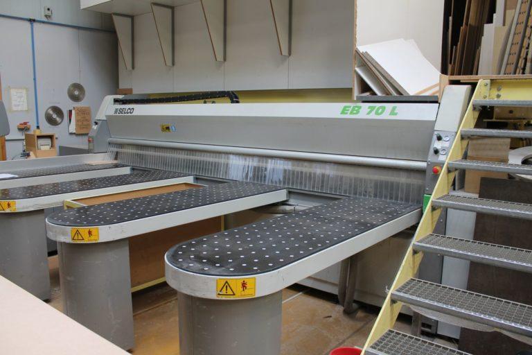 4520 SELCO EB 70 L CNC – Plattenaufteilsäge