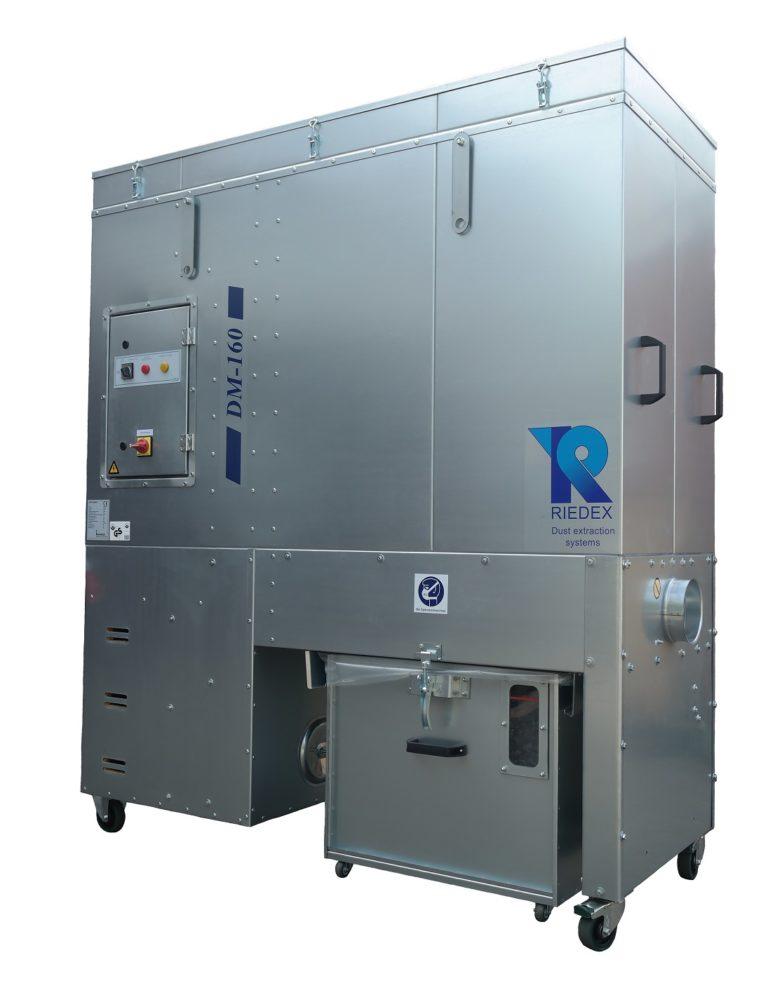 Read more about the article RIEDEX DM-160 Mobilentstauber Absauganlage